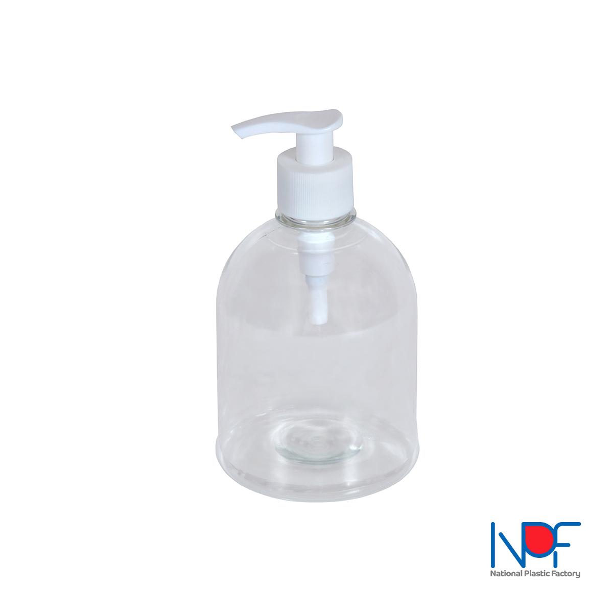 Hand Soap Body 05 Liter Round Flat
